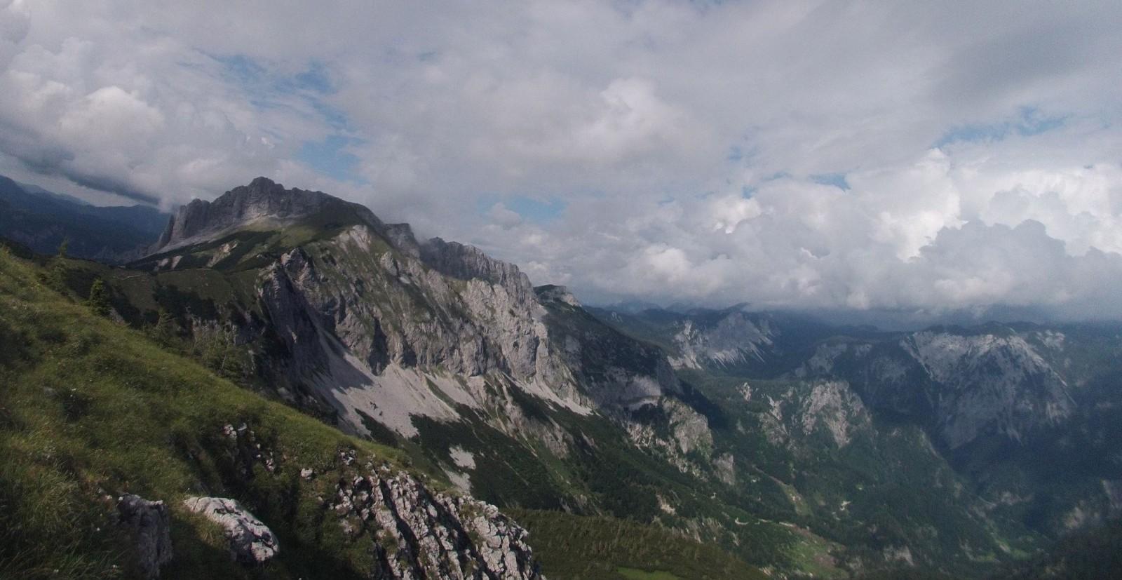 Výhled z Hochblasteru