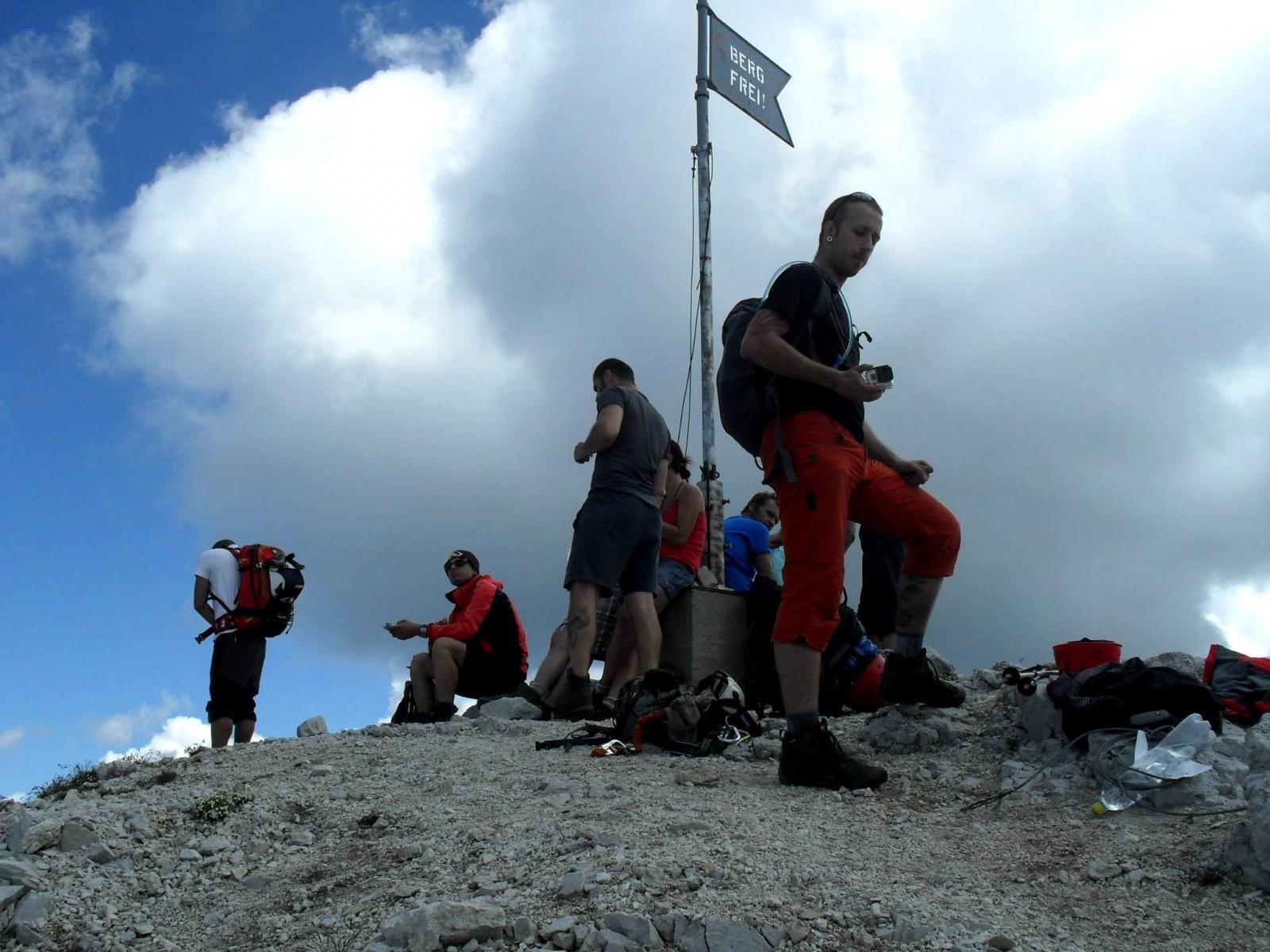 Na vrcholu Kaiserschildu