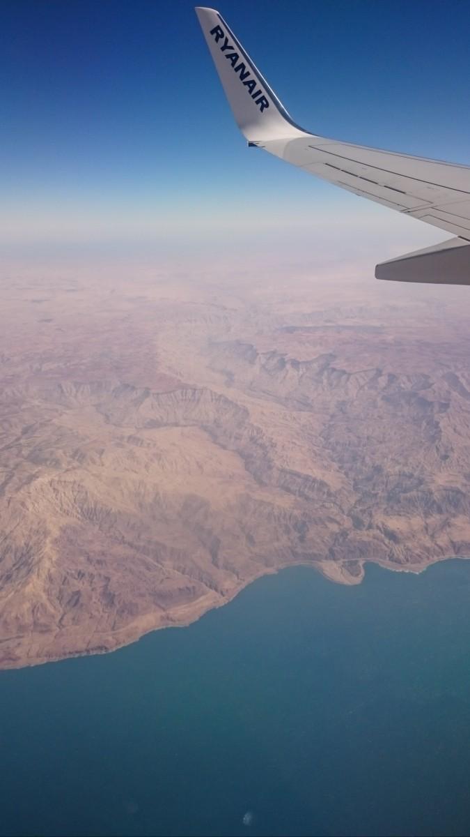 Letadlem uz jsem letel snad milionkrat (= ma druha cesta :D), ale takovy vyhled uchvati i z te vysky :)