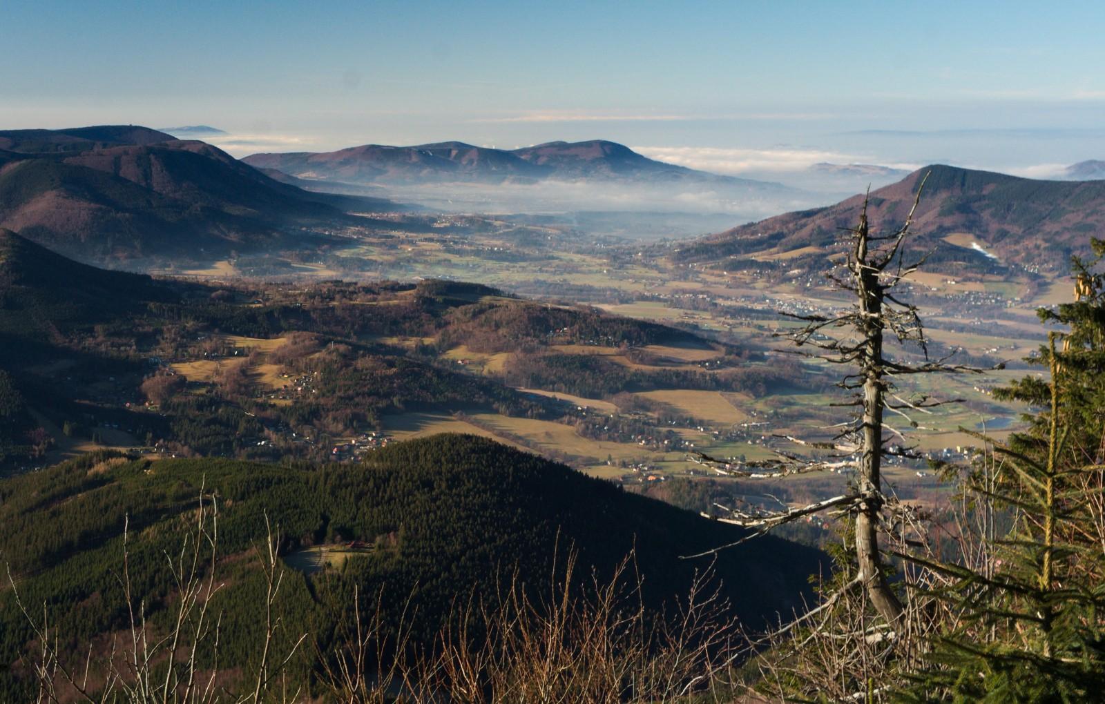 30.12. - Za Bezručovou chatou na Lysé hoře