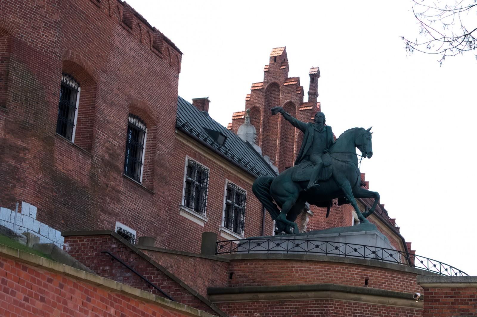 Pomník Tadeusza Kościuszki na Wawelu