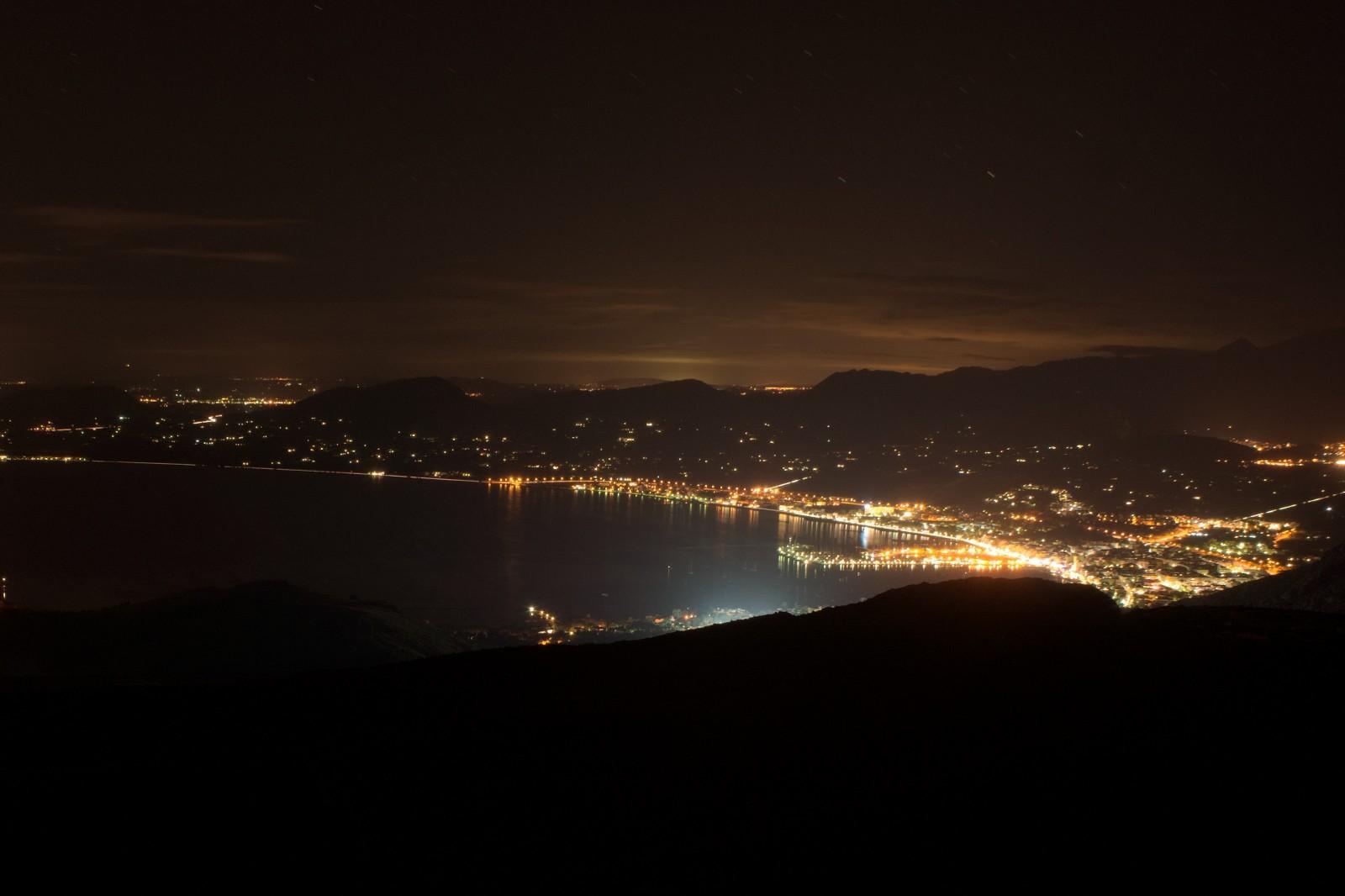 Výhled ze strážní věže na Port de Pollença