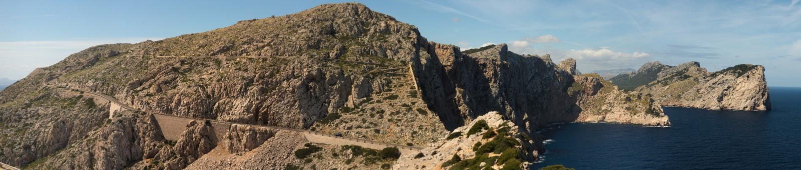 Výhled z Cap de Formentor