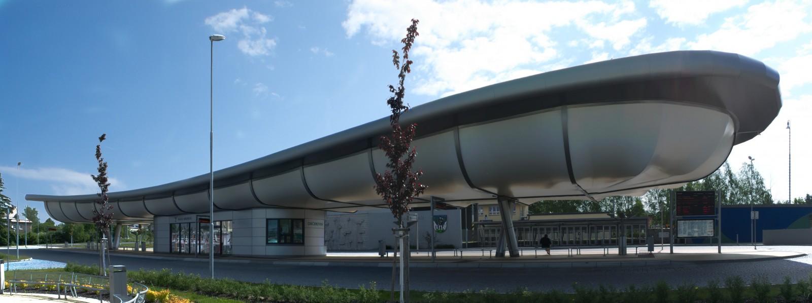 Autobusové nádraží v Bruntálu