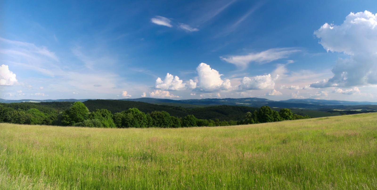 Výhled na Bojkovice