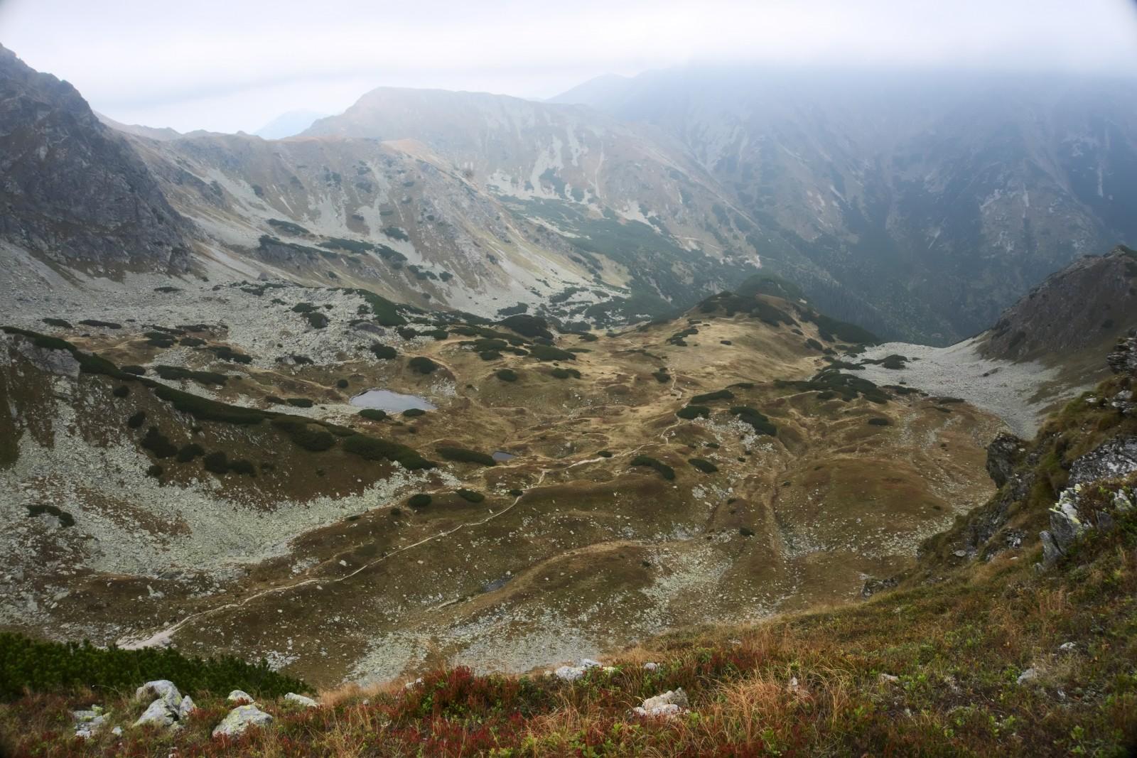 Výhled do Račkové doliny