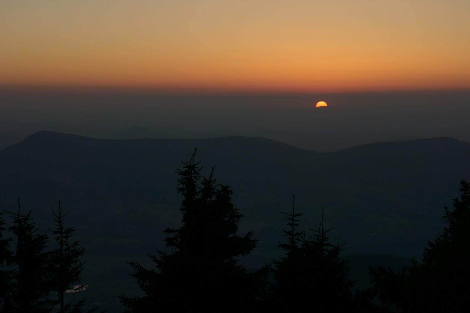 Lysá hora 25. srpna 2016