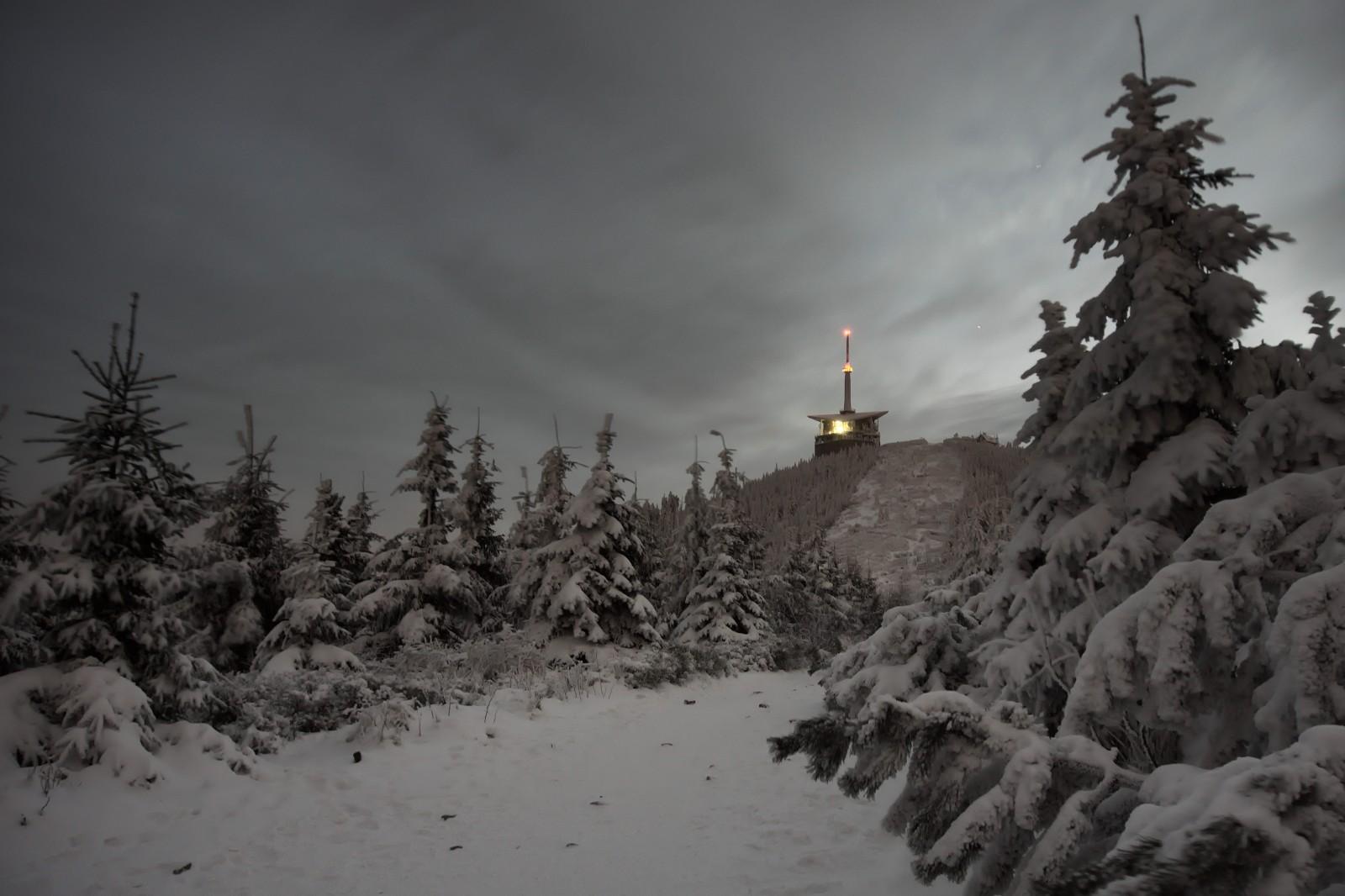 Lysá hora 15. listopadu 2016