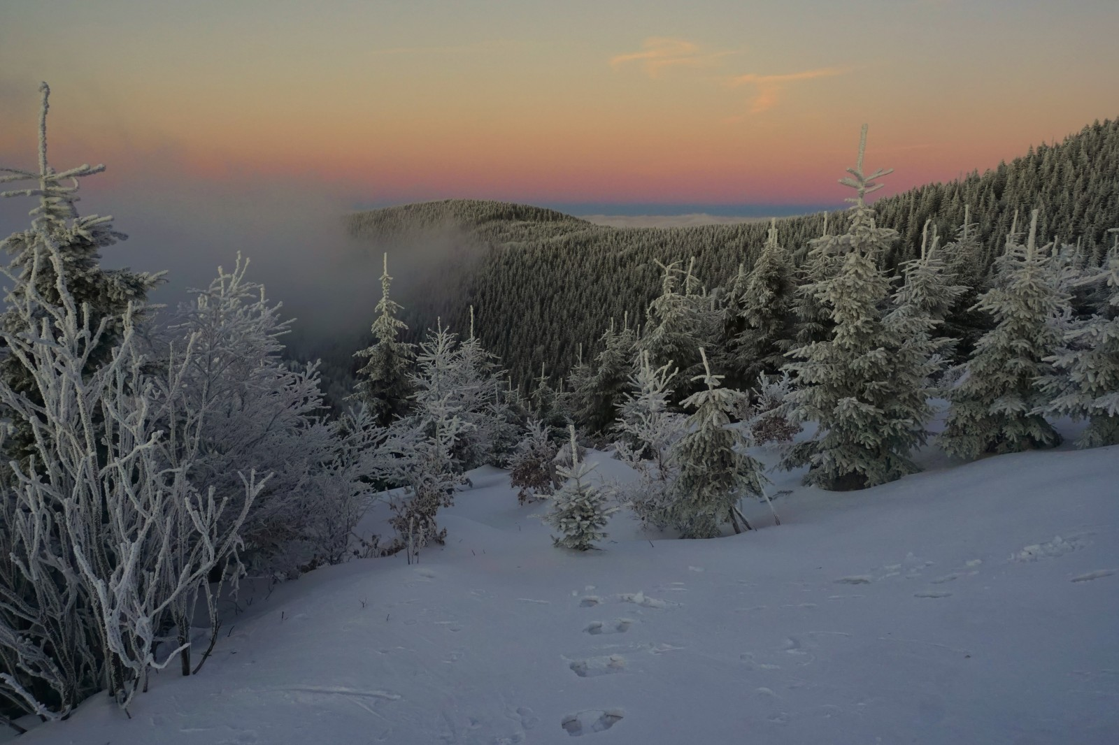Lysá hora 29. prosince 2016