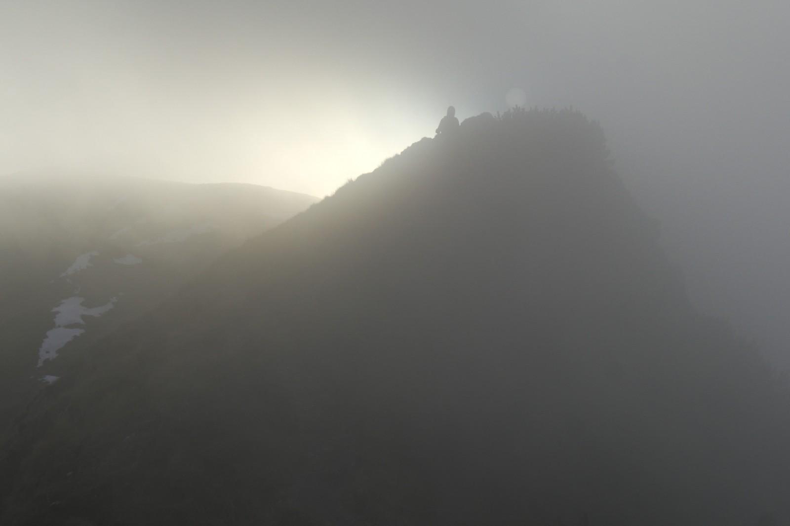 Krásné počasí střídala mlha