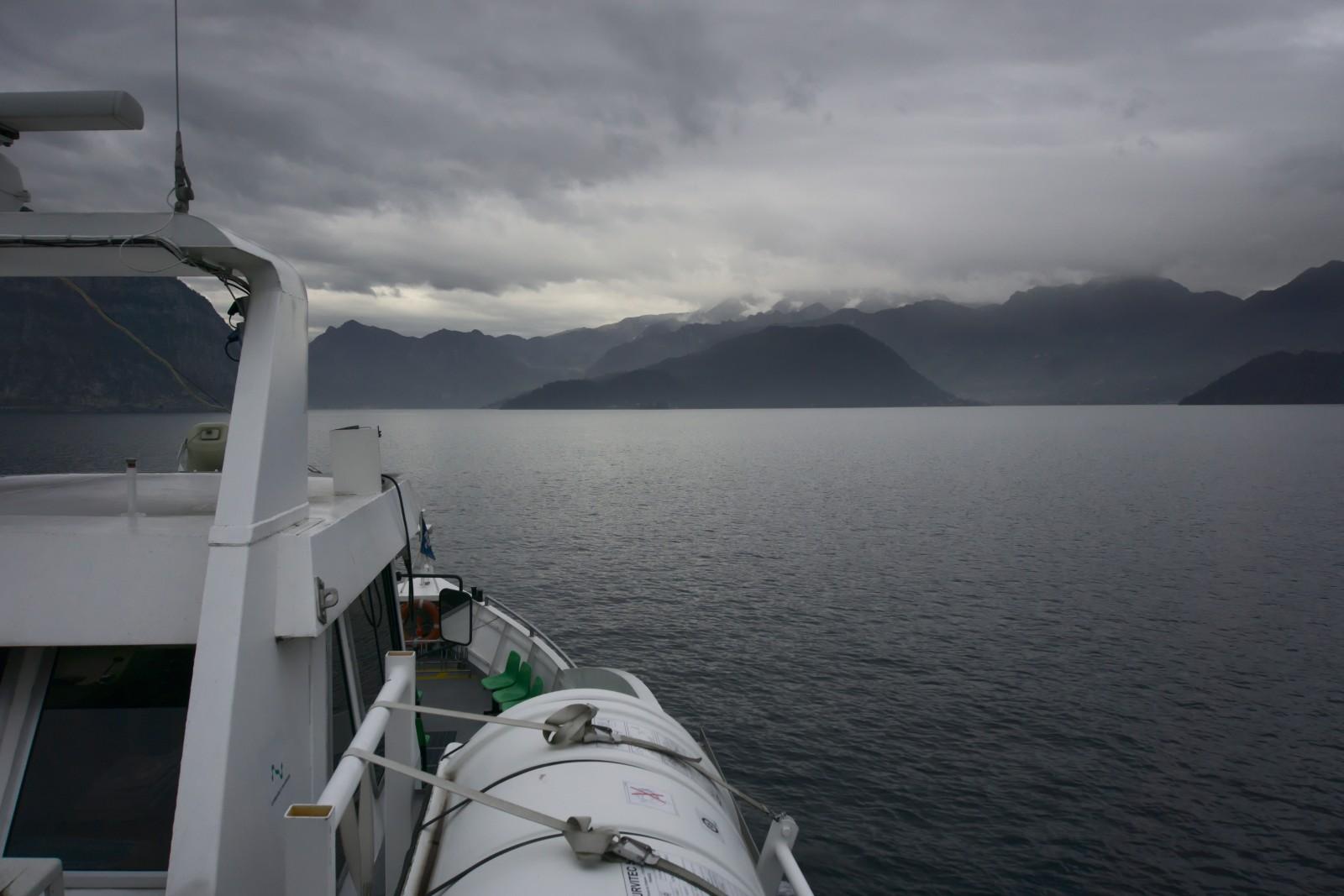 Cestou na Monte Isola