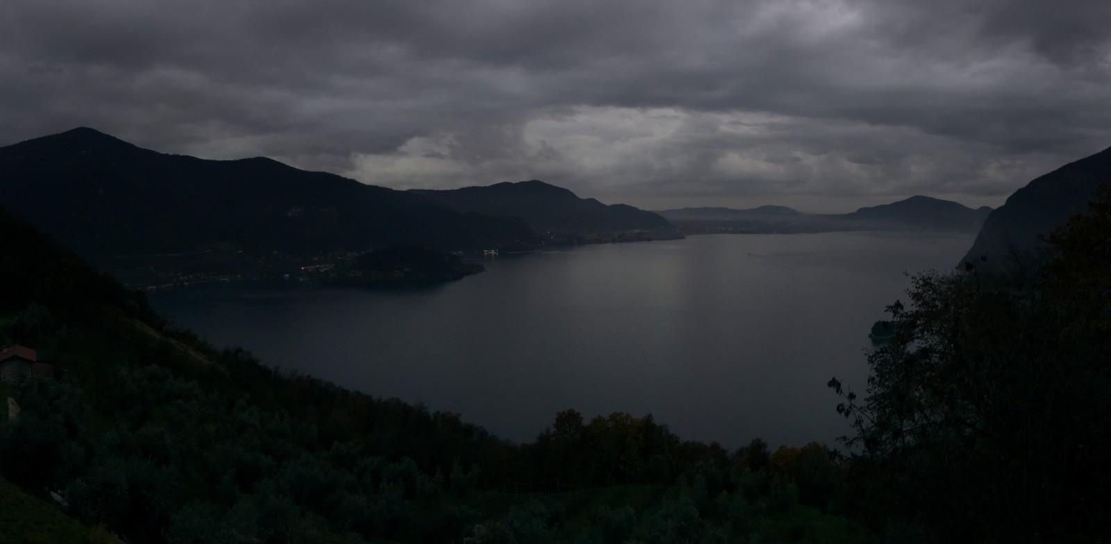 Výhled na Lago d'Iseo