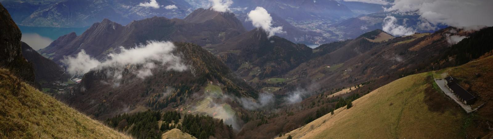 Cestou z Monte Guglielmo