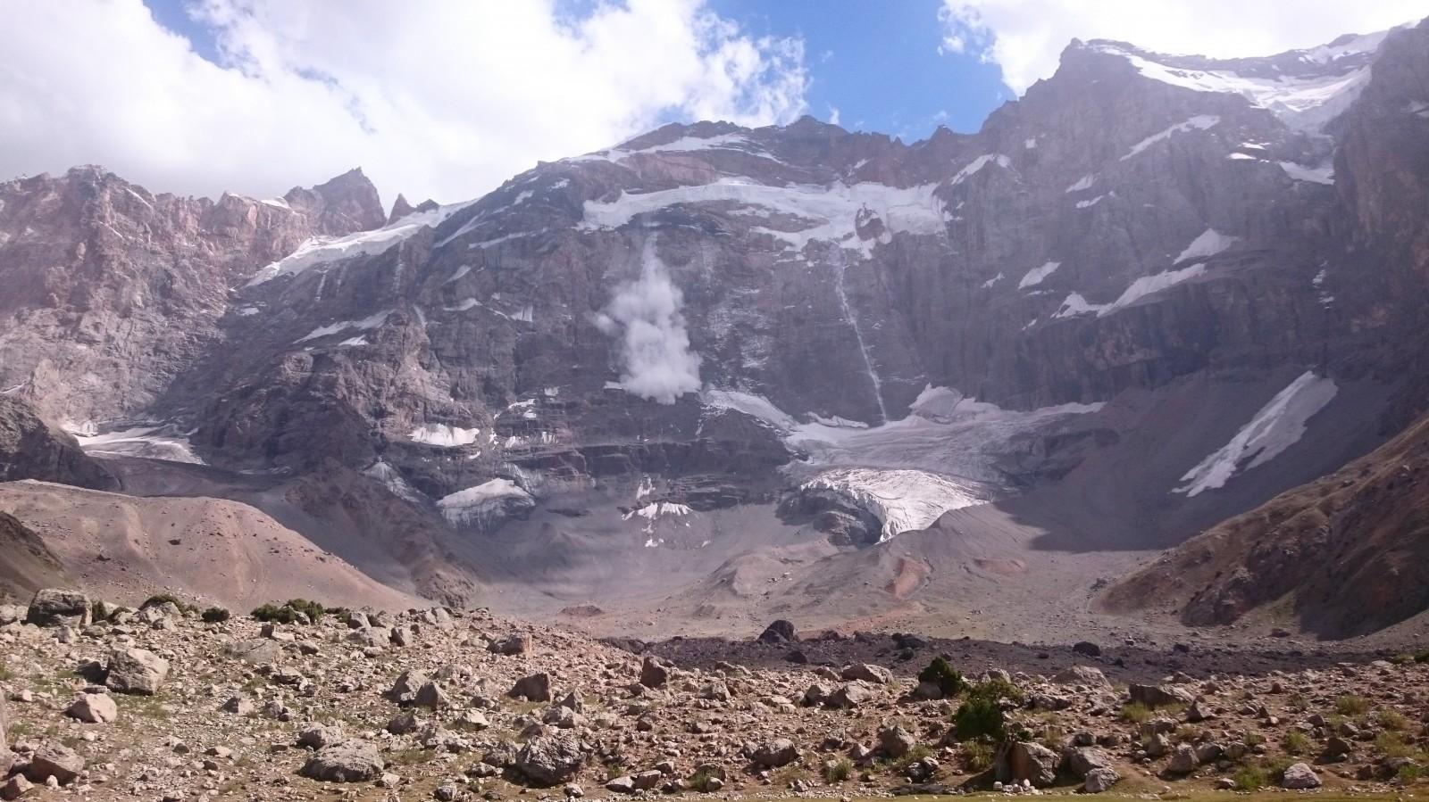 Z Mirali občas padaly laviny