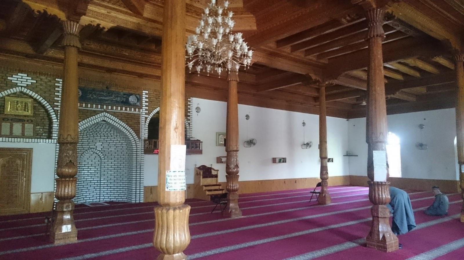 Mešita v Panjakentu