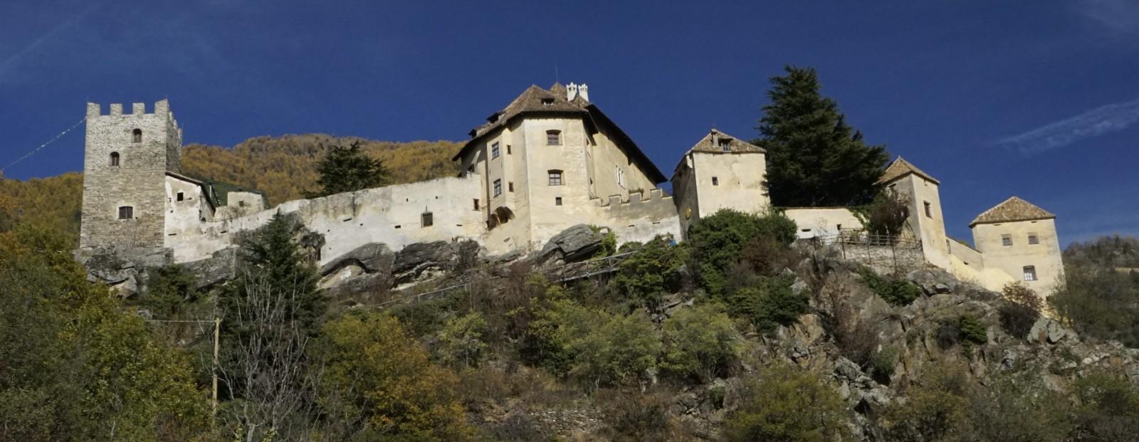 Juval - hrad, letní sídlo a muzeum Reinholda Messnera