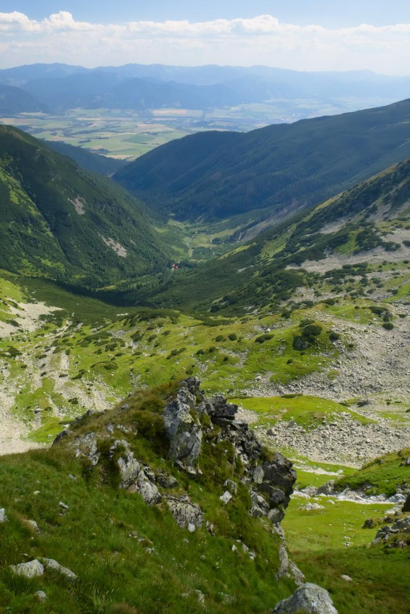 Výhled do Žiarské doliny