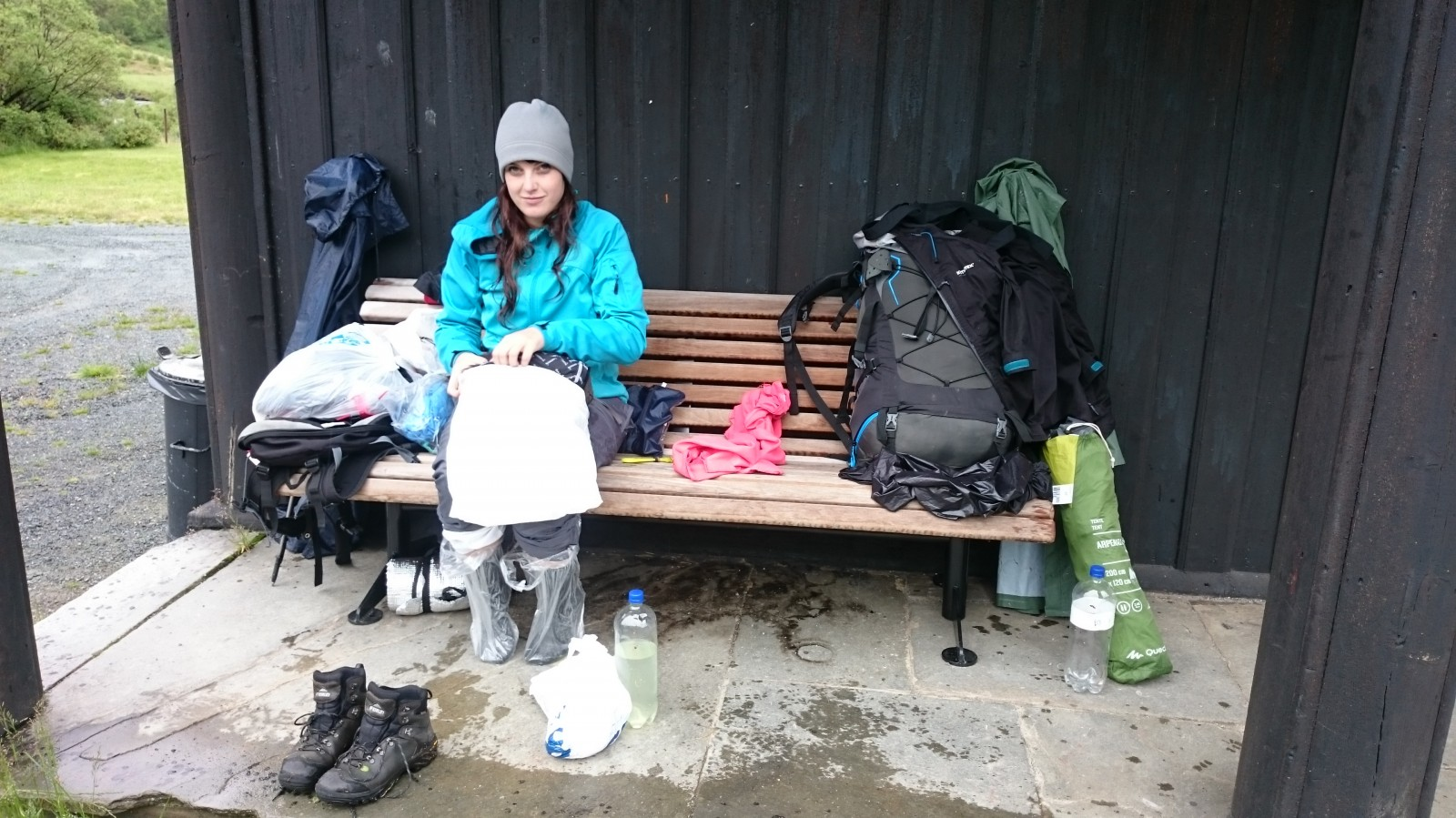 Do suchého v Kongsvollu