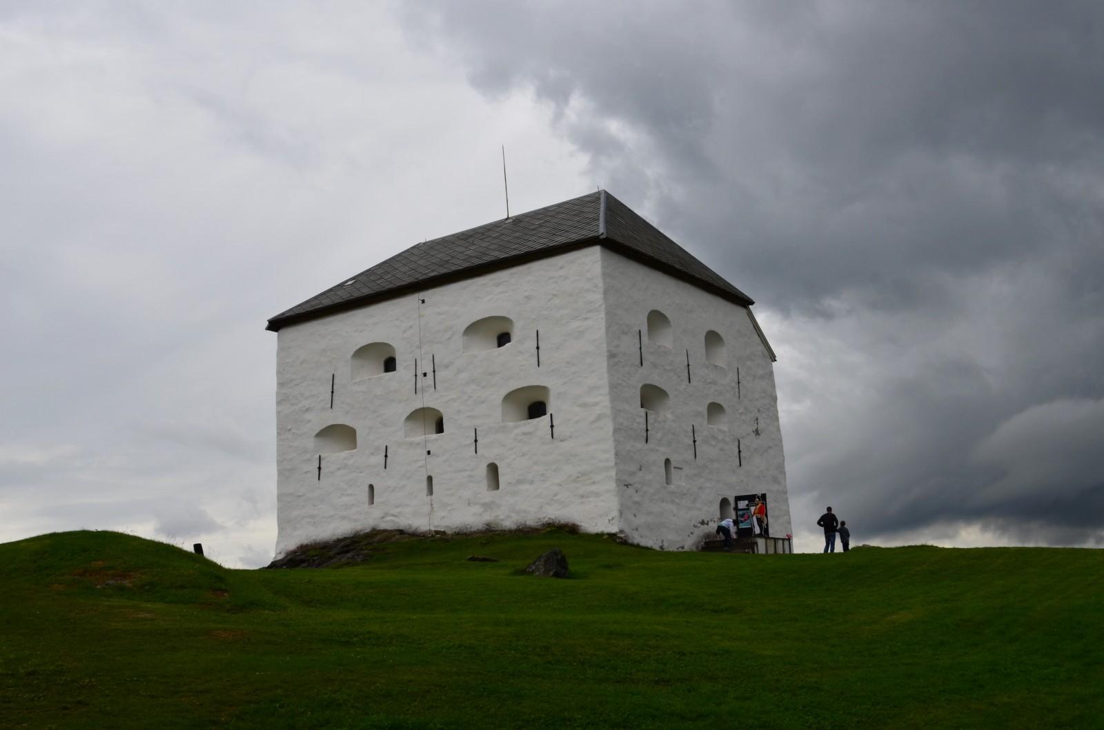 Pevnost Kristiansten v Trondheimu