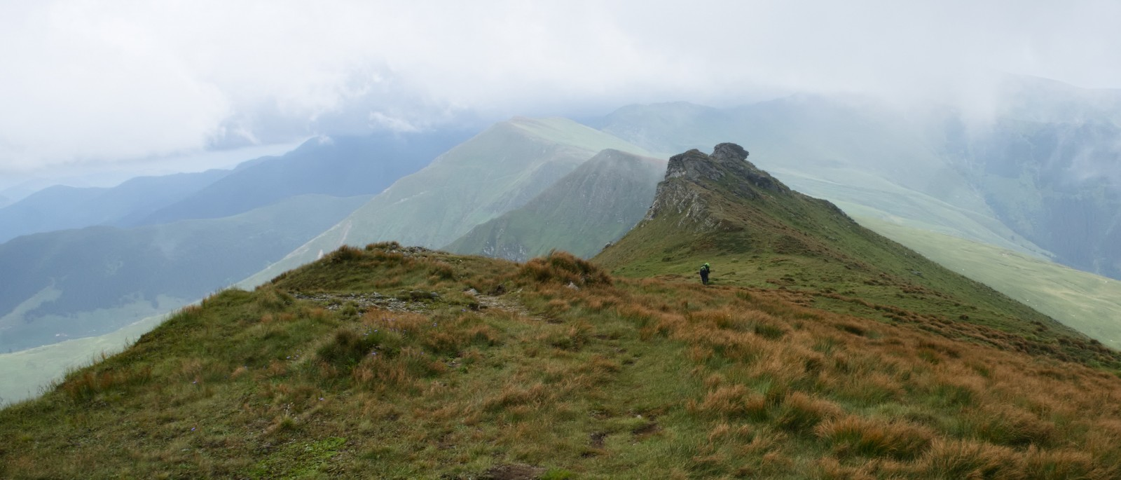 Cestou na Varful Gargalau