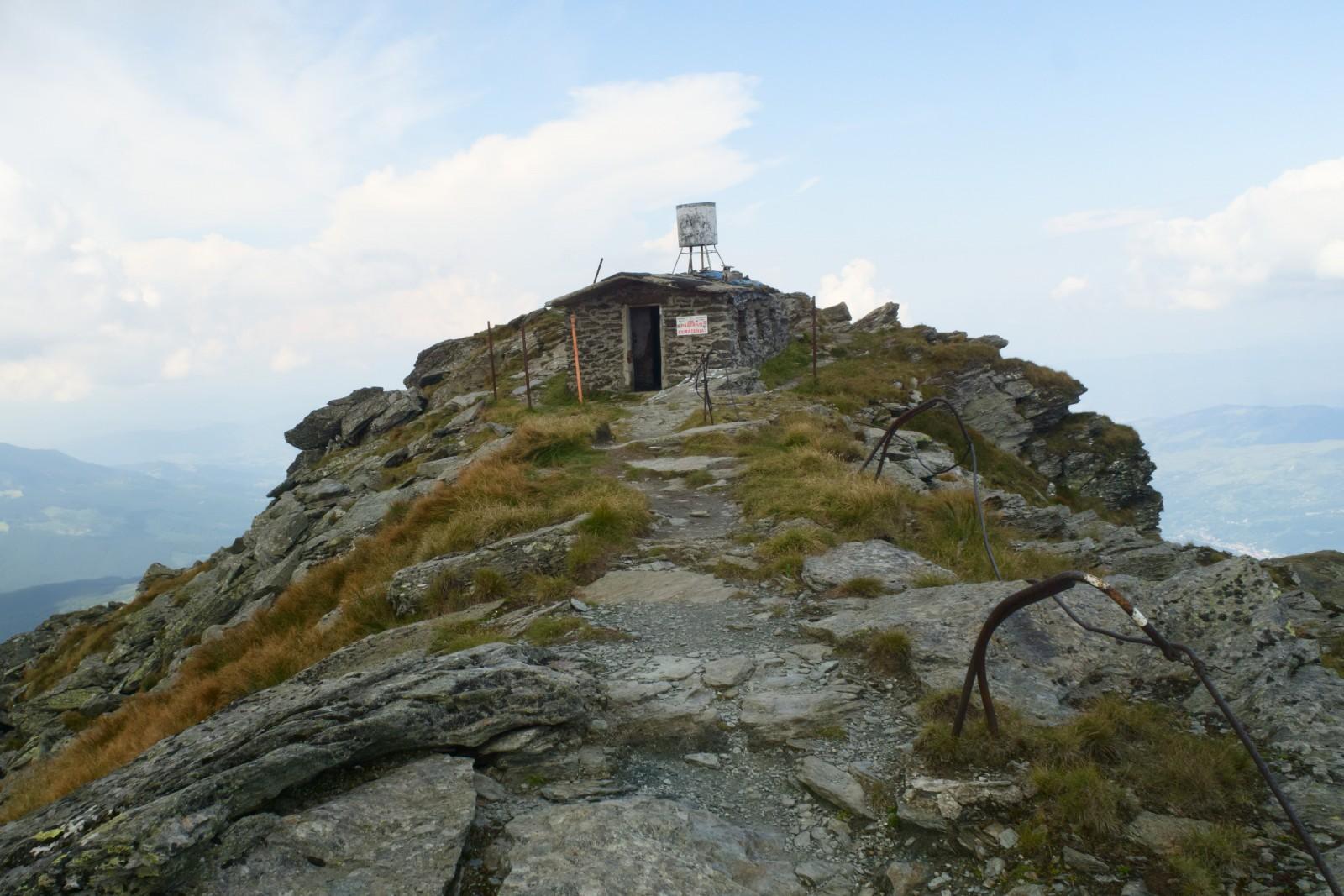 Bývalá meteostanice na Pietrosulu