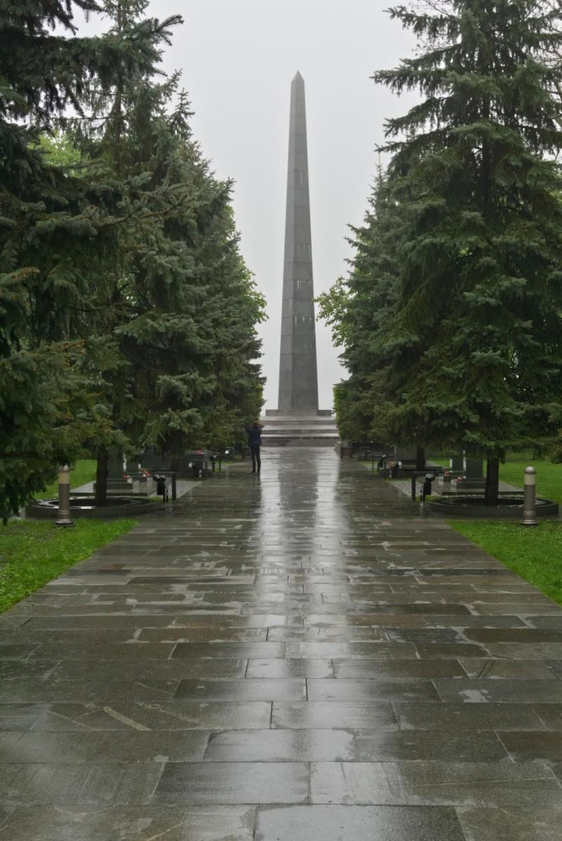 památník Věčné slávy u hrobu neznámého vojína