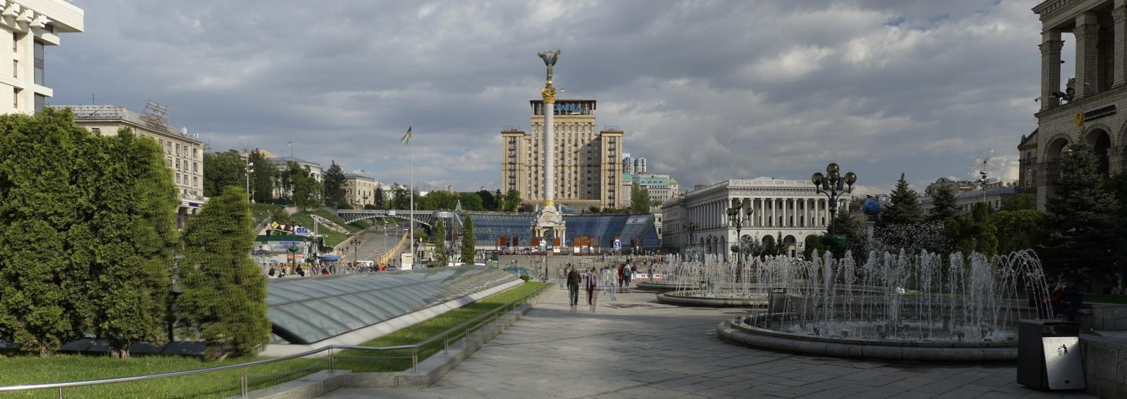 Náměstí Nezávislosti - Majdan