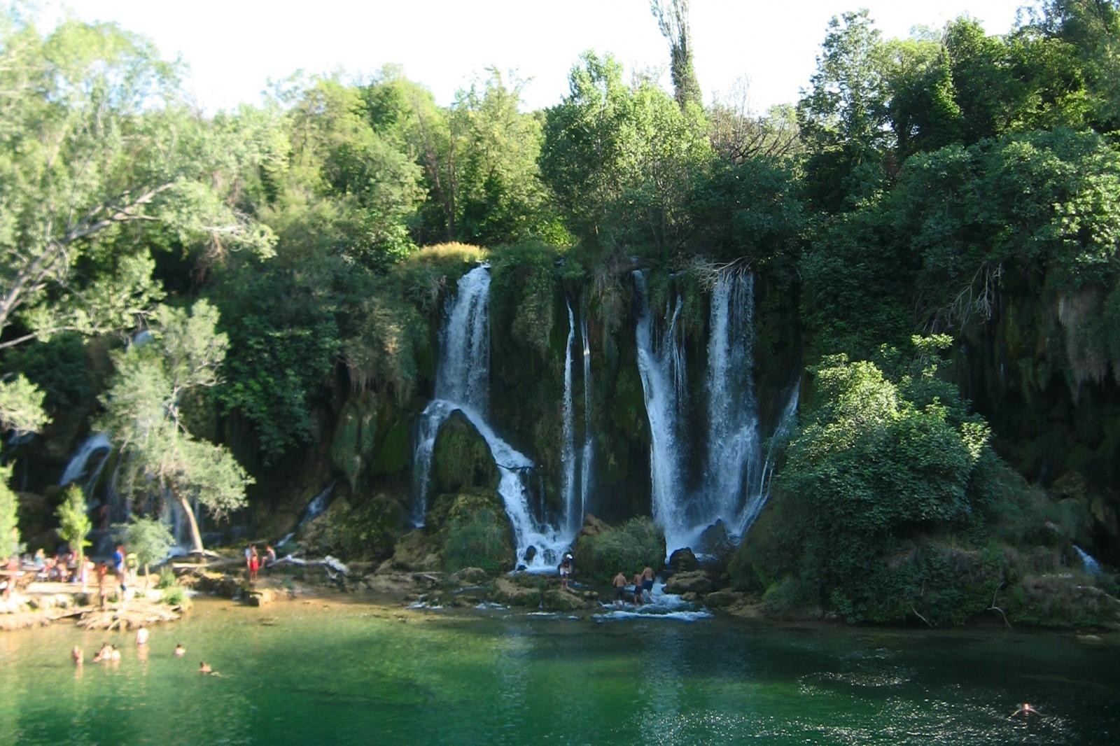 Vodopady Kravica
