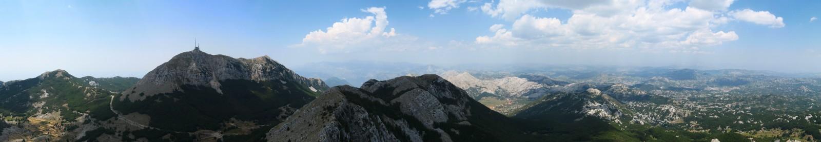 Výhled z Jezerského vrchu